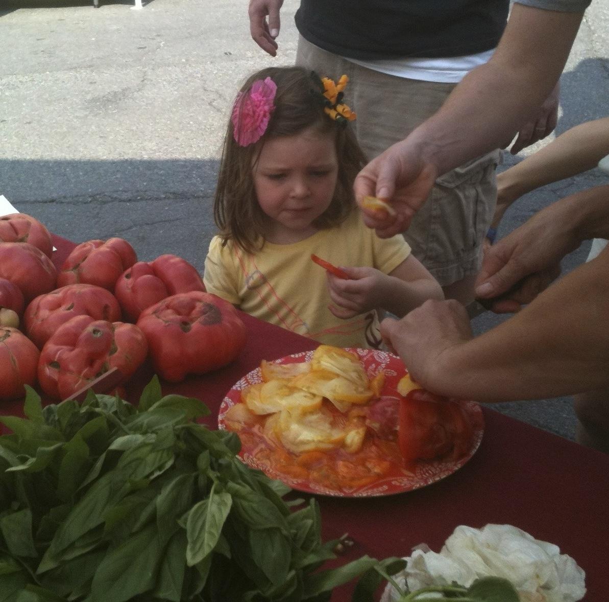 A Tomato Tasting!